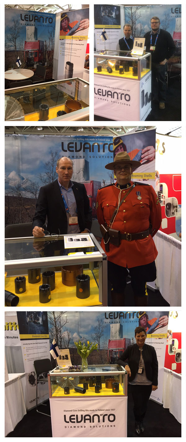 Levanto booth at PDAC 2016