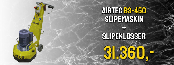 Airtec BS-450 slipemaskin Black Friday