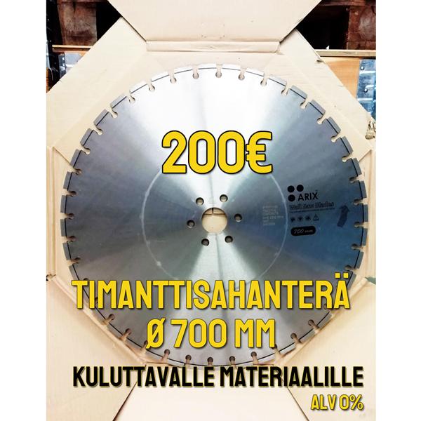 Arix timanttisahanterä Ø 700 mm