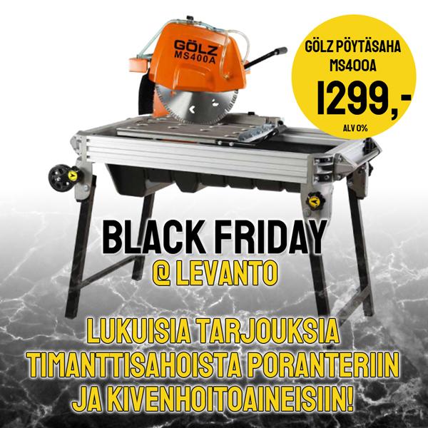 Levanto Black Friday tarjoukset