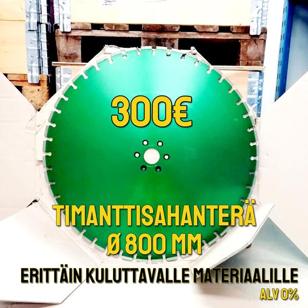 Arix timanttisahanterä Ø 800 mm
