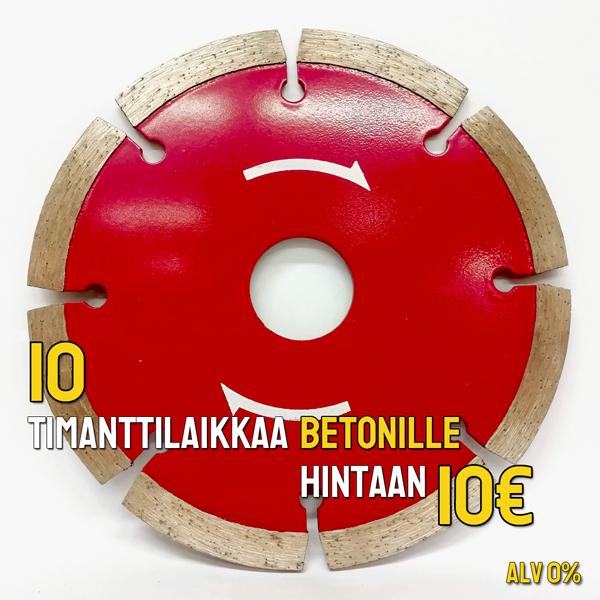 timanttilaikka tarjous 10 euroa