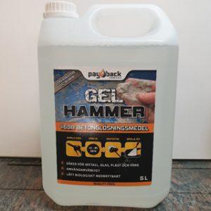 Payback Gel Hammer betonglösningsmedel