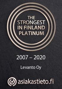 Levanto Oy Strongest in Finland Platinum 2020