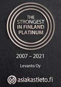 Strongest in Finland Platinum Levanto