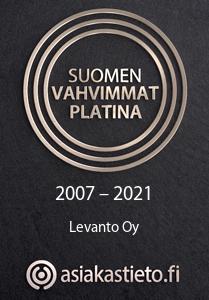 Levanto - Suomen Vahvimmat Platina