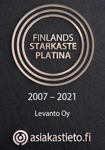 Finlands Starkaste Platina Levanto