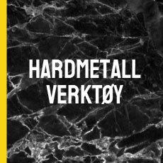 Hardmetallverktøy